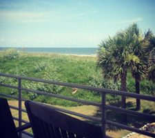 Grand Isle Beach View
